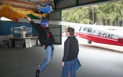 Fallschirm Ausbildung Theorie