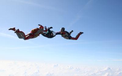 Fallschirmausbildung