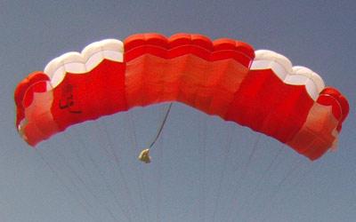 Tandem-Fallschirm-Kappe