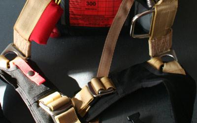 Bestes Material beim Fallschirmsystem