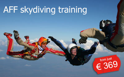 AFF Fallschirm Ausbildung | schon ab 369 Euro