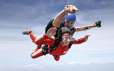 Skydive Tandem Jump at skydive colibri